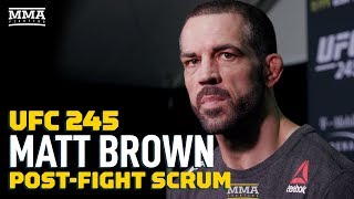 Matt Brown Wants Quick Turnaround at UFC Columbus Event - MMA Fighting by MMA Fighting