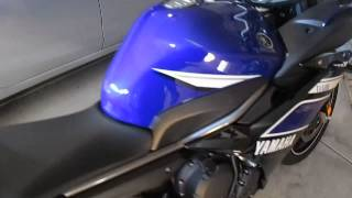 8. 2013 Yamaha FZ6R Walk Around