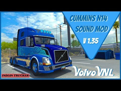 Real Cummins N14 Sound for SCS Volvo VNL 1.35