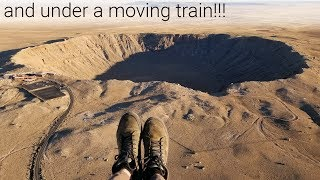 Video Flying Over A 50,000 Year Old Meteor Crater!! MP3, 3GP, MP4, WEBM, AVI, FLV April 2018