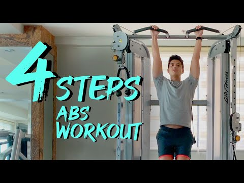 JC de Vera Core strength workout for building muscle and toning