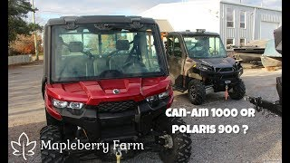 10. Can Am 1000 or Polaris 900 - Which would you pick?