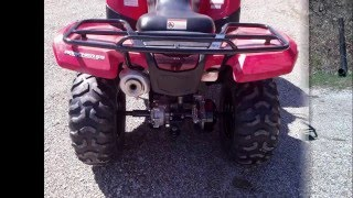 10. 2007 Honda Rancher 420 4x4 ES  Repair