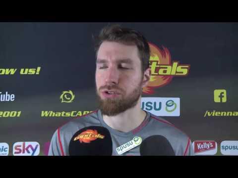Stimmen zum Spiel: spusu Vienna Capitals - KAC (20.01.2019) Dave Cameron und Andi Nödl