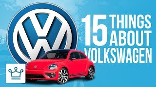 Video 15 Things You Didn't Know About VOLKSWAGEN MP3, 3GP, MP4, WEBM, AVI, FLV Oktober 2018