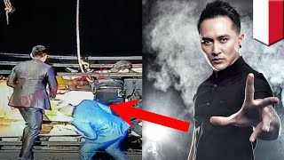 Download Video Aksi Death Drop dari ilusionis Demian Aditya - TomoNews MP3 3GP MP4