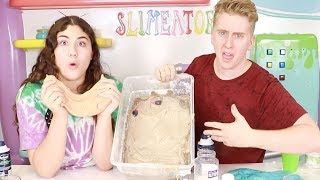 SLIME MAKEOVER CHALLENGE ~ who will fix it better?