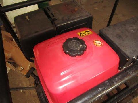 Бензиновый генератор honda hx 6000 фото
