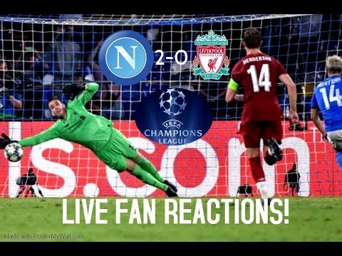 Napoli 2-0 Liverpool , Champions League September 17th 2019, LIVE Fan Reactions