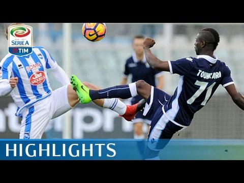 Pescara - Lazio - 2-6 - Highlights - Giornata 23 - Serie A TIM 2016/17