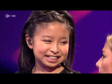 Celine Tam 譚芷昀 Duet With Helene Fischer You Raise Me Up