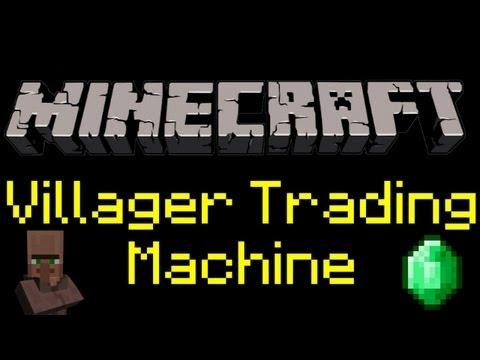 Minecraft - Villager Trading Machine Tutorial [Infinite Trading]