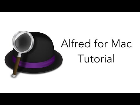 alfred - Alfred is an advanced search application for the Mac. Think of him as Siri's long lost cousin. In this tutorial video, David will show you the basics of how ...