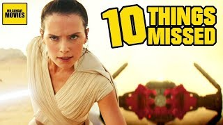 Ten Easy To Miss Details In Star Wars: The Rise Of Skywalker (Trailer Breakdown)