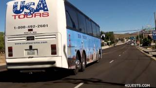 Rolla (MO) United States  City new picture : USA TOURS INC BUS ~ ROLLA MO ~ in ARIZONA
