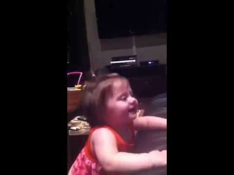 13 month old Alex enjoying Ella Mae singing to Elvis's