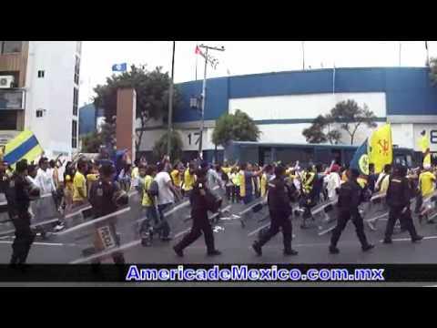 Ya llego la banda - Ritual del Kaoz en el Estadio Azul - Ritual Del Kaoz - América