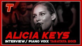 Alicia Keys Interview + piano voix (Intégrale)
