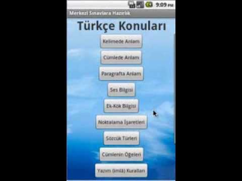 Video of Merkezi Sınavlar (TEOG) Türkçe