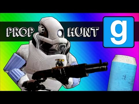 Gmod Prop Hunt Funny Moments – LIL' CAN!