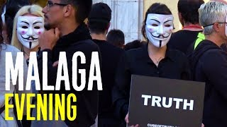 Star Wars Flashmob | Protests and Malaga Evening | Spain Vlog