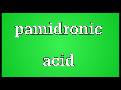 Pamidronic acid Meaning