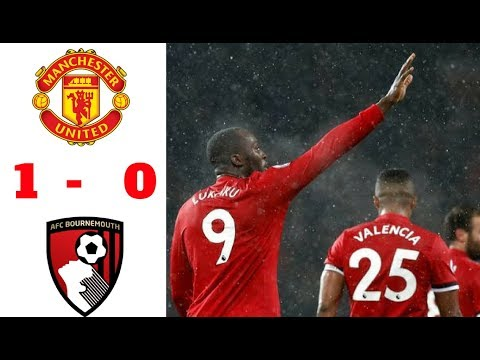 Manchester United vs Bournemouth 1-0   All Highlights & Goals   13/12/2017