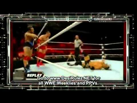 WWE Raw 17 jan 2011 in HD - Part 2