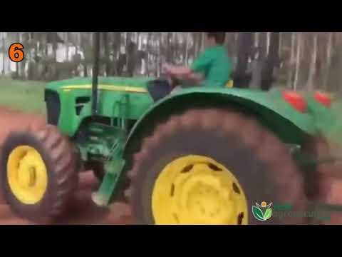 Cagadas com tratores e máquinas agrícolas