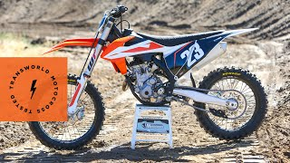 8. Technical Briefing Of The 2019 KTM 250 SX-F