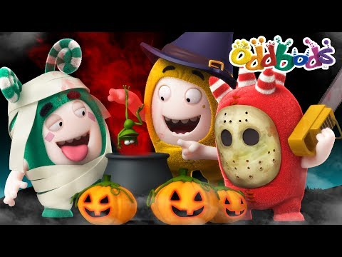 Oddbods | HALLOWEEN TRICKS | Funny Cartoons For Kids | Oddbods & Friends
