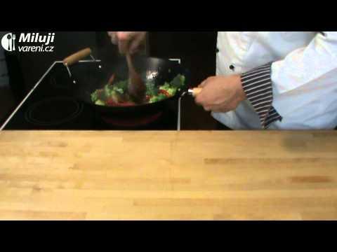 Hovězí proužky na chilli