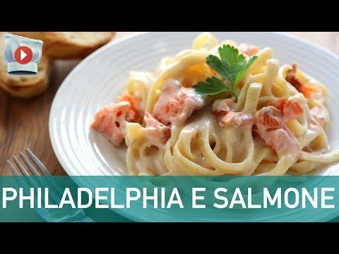 semplice e veloce: pasta con salmone e philadelphia