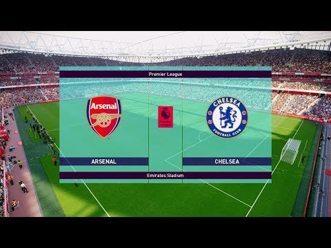 Arsenal Vs Chelsea 2-0 | Premier League 19 January 2019 Gameplay