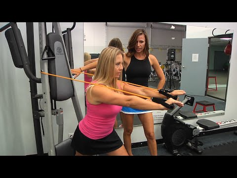 20 Minute Anywhere Total Body Workout by Cat Kom! 7 Resistance Band Exercises that hit it all!