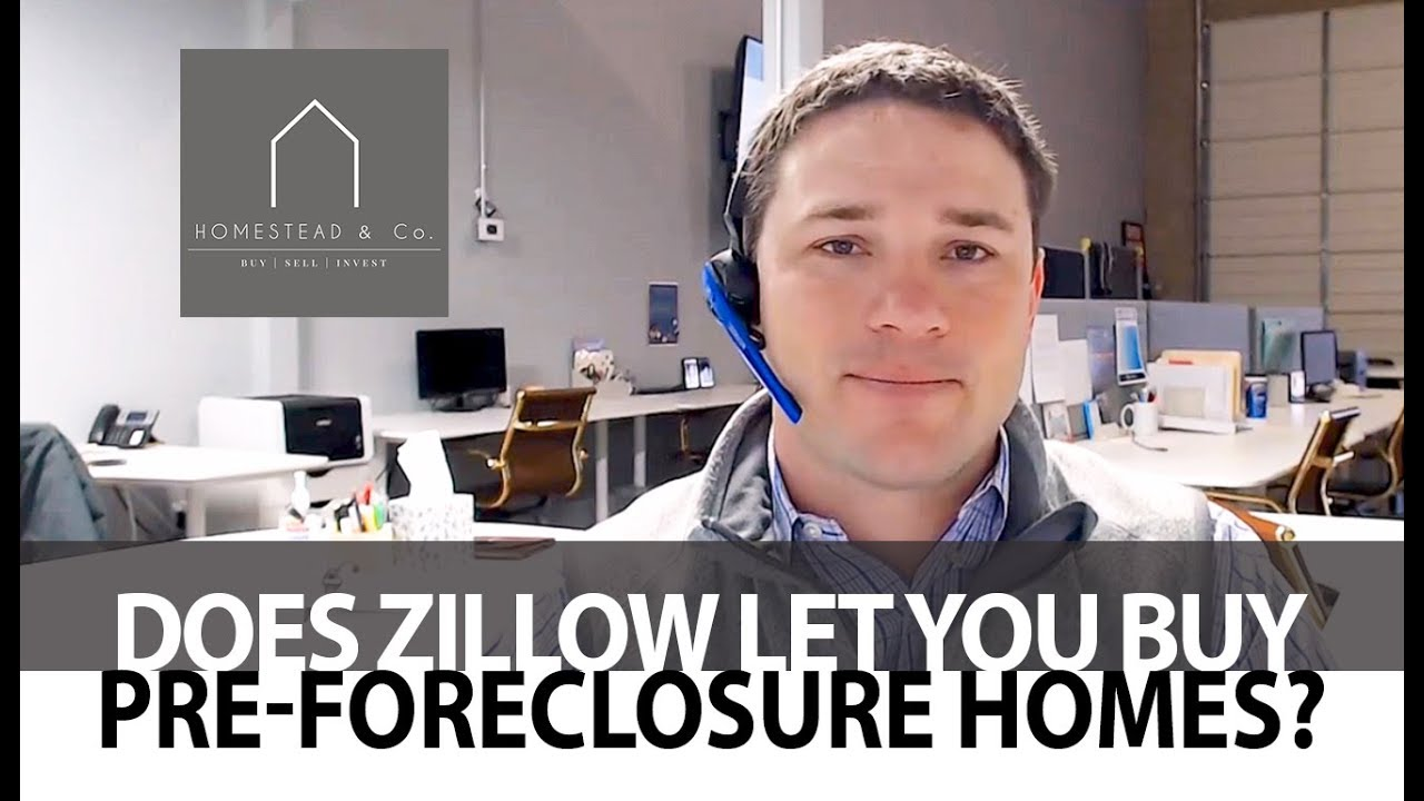 Can You Buy a Pre-Foreclosure on Zillow?