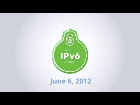 Jun 06 2012 - World IPv6 Launched day