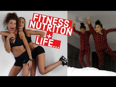 CHIC CHAT GRWM/Health, Fitness, + Nutrition Q&A with My MOM // TessaRenéeTR