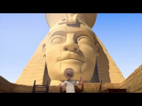 The Egyptian Pyramids: Funny Animated Short Film