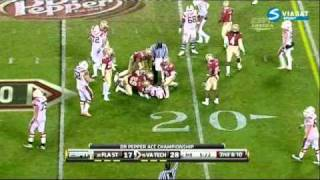 Nigel Bradham vs Virginia Tech