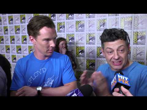 Andy Serkis - Benedict Cumberbatch and Andy Serkis talk about the upcoming 'The Hobbit: Battle of Five Armies' at Comic Con 2014.