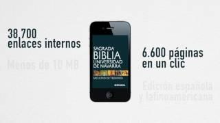 La Universidad de Navarra lanza una edición digital de la Biblia