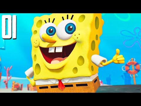SpongeBob: Battle for Bikini Bottom Rehydrated - THIS GAME IS HILARIOUS! - Part 1