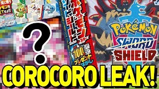 COROCORO LEAKED! STARTER EVOS?! ANIME SPOILER? Pokemon Sword and Shield Discussion and Rumors! by aDrive
