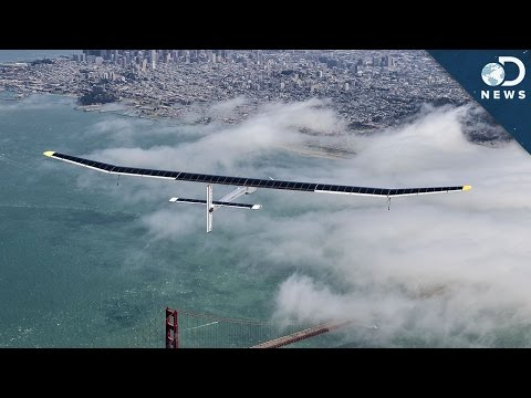 Planes - A solar plane is about to fly across the world, which got us thinking: Is it likely that we're going to see more planes like this in the future? Follow Amy on Twitter: https://twitter.com/astv...
