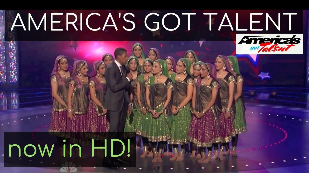 [HD] America's Got Talent Wild Card Show   Top 25   Kruti Dance Academy
