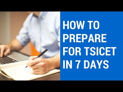 Ts Icet: How To Prepare For Ts Icet In 7 Days And Score 120 Marks (2018).