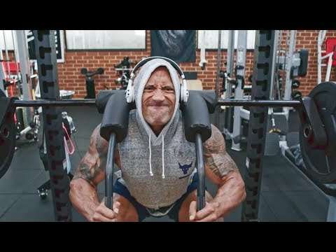 Squats. BEND BOUNDARIES. | Dwayne Johnson Under Armour Campaign