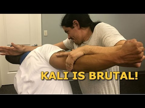 Destroy The Enemy Quickly with this Kali Empty Hands Techniques