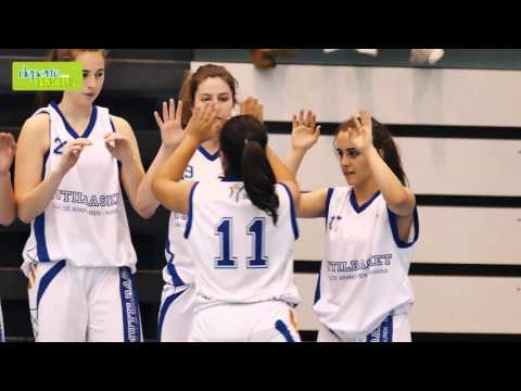 Final Cadete Femenina Mutilbasket vs Ardoi presentaciones